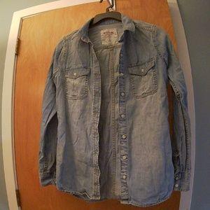 Mossimo Lightweight Demin Shirt - XS